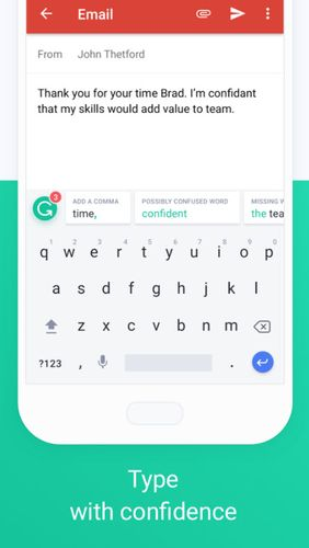 Grammarly keyboard - Type with confidence