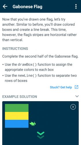 Grasshopper: Learn to code for free app for Android, download programs for phones and tablets for free.