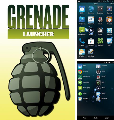 Besides KISS launcher Android program you can download Grenade launcher for Android phone or tablet for free.