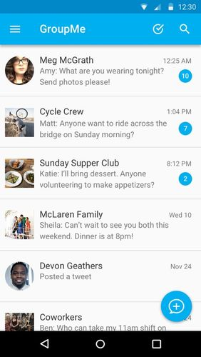 Download GroupMe for Android for free. Apps for phones and tablets.