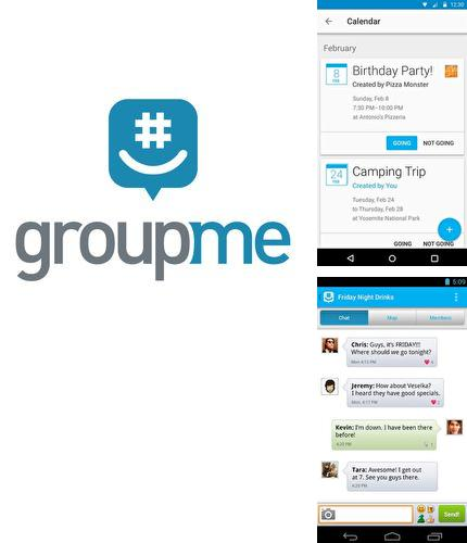 Besides ProShot Android program you can download GroupMe for Android phone or tablet for free.