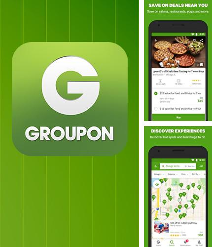 Además del programa Button mapper: Remap your keys para Android, podrá descargar Groupon - Shop deals, discounts & coupons para teléfono o tableta Android.