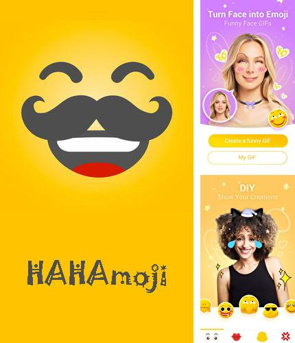 Download HAHAmoji - Animated face emoji GIF for Android phones and tablets.