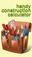 Download Handy сonstruction сalculators for Android - best program for phone and tablet.