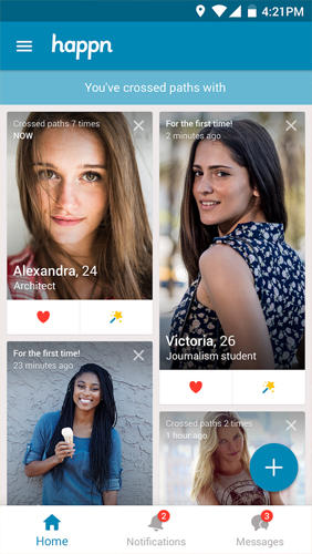 Descargar gratis Happn: Local Dating para Android. Programas para teléfonos y tabletas.