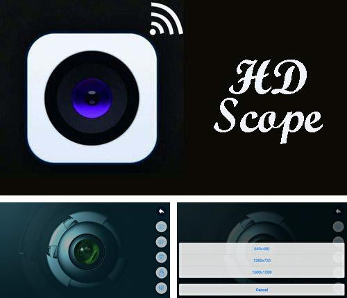 Besides Cam scanner Android program you can download HD scope for Android phone or tablet for free.
