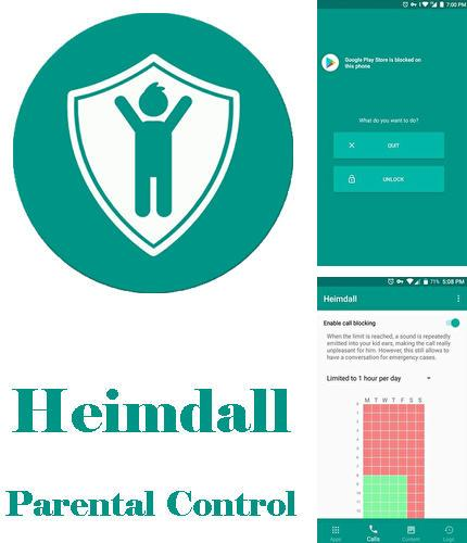 Besides Mozilla Firefox Android program you can download Heimdall: Parental control for Android phone or tablet for free.