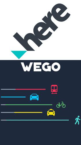 HERE WeGo - Offline maps & GPS für Android, kostenloser Download Download Offline Maps Android on