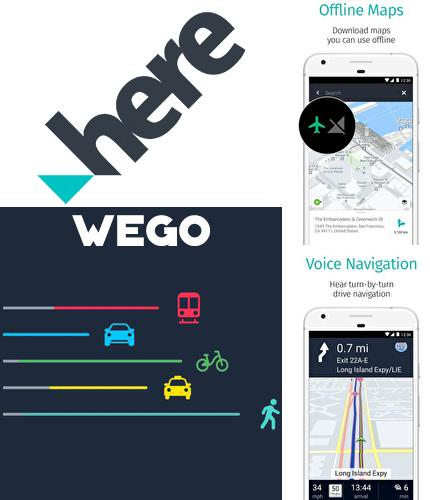 Outre le programme MIUI-ify - Notification shade pour Android vous pouvez gratuitement télécharger HERE WeGo - Offline maps & GPS sur le portable ou la tablette Android.