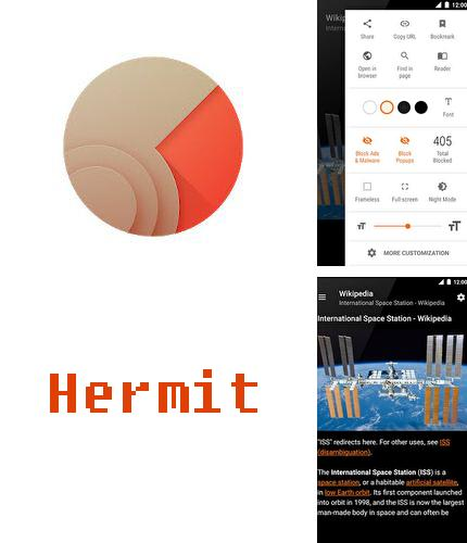 Download Hermit - Lite apps browser for Android phones and tablets.