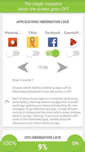 Download Hibernate - Real battery saver for Android for free. Apps for phones and tablets.