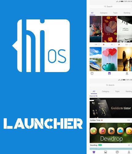 Descargar gratis HiOS launcher - Wallpaper, theme, cool and smart para Android. Apps para teléfonos y tabletas.