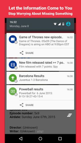 Download Hooks - Alerts & notifications for Android for free. Apps for phones and tablets.