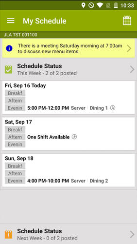 Download Hot Schedules for Android for free. Apps for phones and tablets.