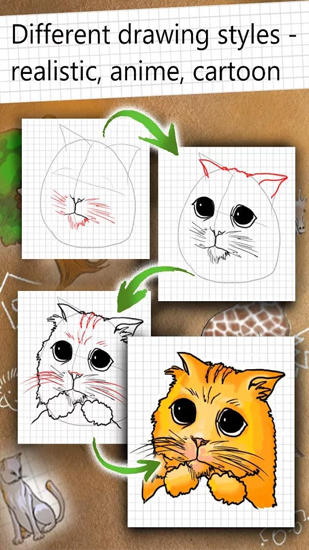 How to Draw app for Android, download programs for phones and tablets for free.