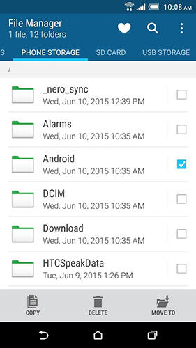 Download HTC file manager for Android for free. Apps for phones and tablets.