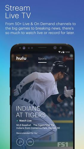 Hulu: Stream TV, movies & more app for Android, download programs for phones and tablets for free.