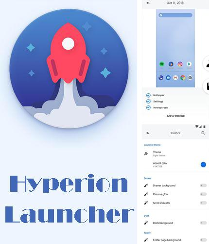Download Hyperion launcher for Android phones and tablets.
