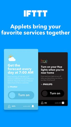 Download IFTTT for Android for free. Apps for phones and tablets.