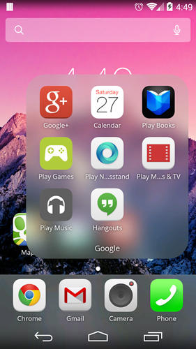 Mini desktop: Launcher app for Android, download programs for phones and tablets for free.