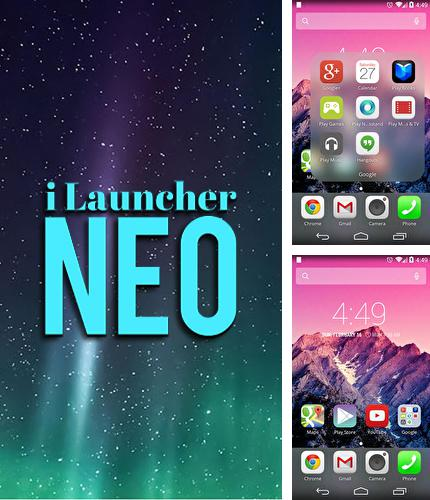 Besides 8 minutes press Android program you can download iLauncher neo for Android phone or tablet for free.