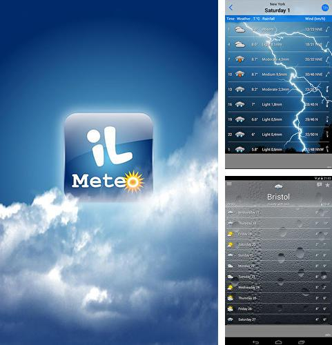 Download ilMeteo weather for Android phones and tablets.