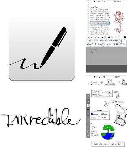 Besides Footej camera Android program you can download INKredible - Handwriting note for Android phone or tablet for free.