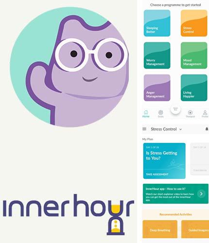 Outre le programme Grasshopper: Learn to code for free pour Android vous pouvez gratuitement télécharger InnerHour - Self help for anxiety & depression sur le portable ou la tablette Android.