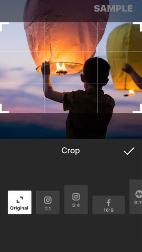 Les captures d'écran du programme InShot - Video editor & Photo editor pour le portable ou la tablette Android.