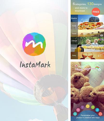 Besides Flashlight Android program you can download Insta mark for Android phone or tablet for free.