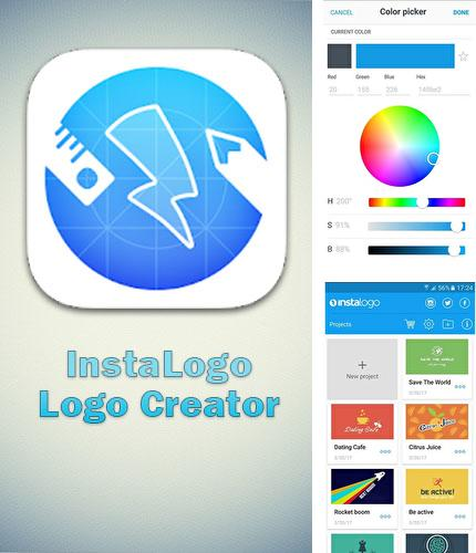 Download InstaLogo: Logo creator for Android phones and tablets.