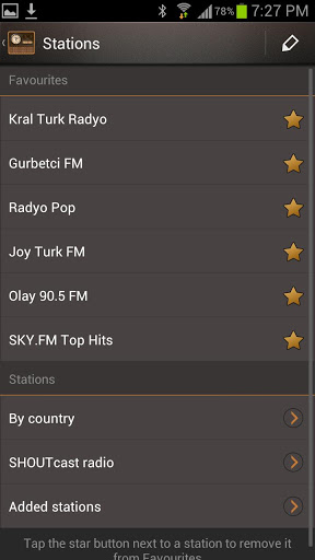 Internet Radio app for Android, download programs for phones and tablets for free.