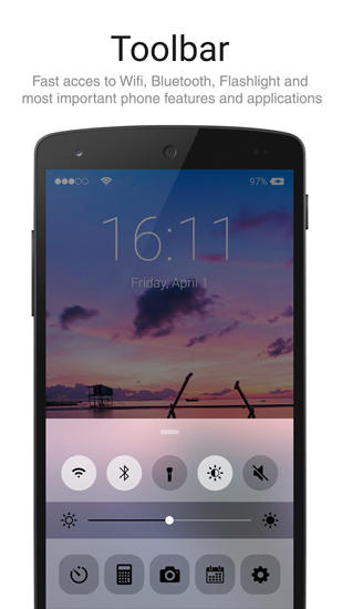 iPhone: Lock Screen app for Android, download programs for phones and tablets for free.