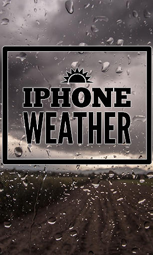 iPhone weather