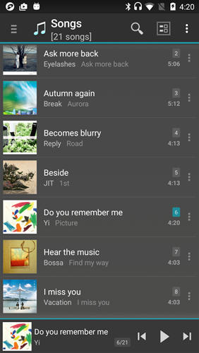 Jet Audio: Music Player app for Android, download programs for phones and tablets for free.