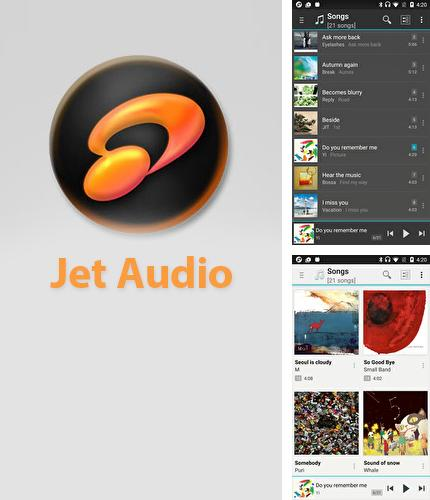 Descargar gratis Jet Audio: Music Player para Android. Apps para teléfonos y tabletas.
