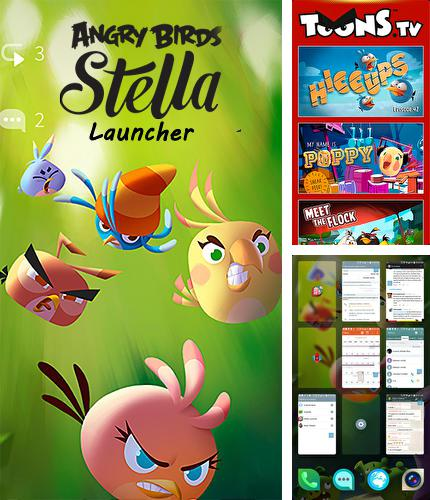 Besides ZenNotes: Secure Notepad Android program you can download Angry birds Stella: Launcher for Android phone or tablet for free.