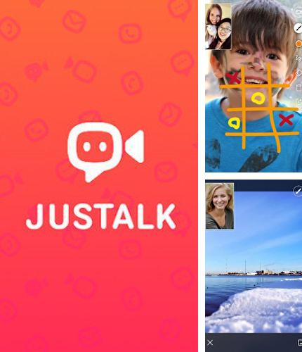 Además del programa Airbnb para Android, podrá descargar JusTalk - free video calls and fun video chat para teléfono o tableta Android.
