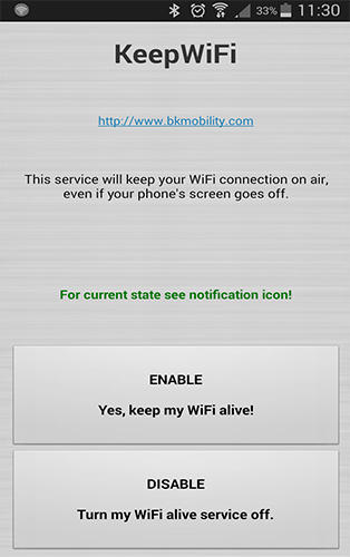 Download Keep WiFi for Android for free. Apps for phones and tablets.