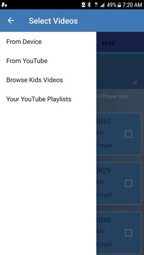 Kids safe video player - YouTube parental controls