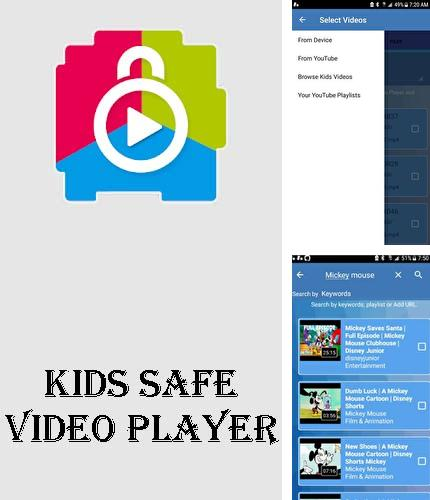 Besides Full Screen Caller ID Android program you can download Kids safe video player - YouTube parental controls for Android phone or tablet for free.