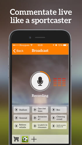 Screenshots of Simple radio - Free live FM AM program for Android phone or tablet.