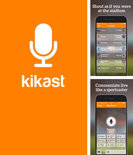 Besides Magisto Video editor & maker Android program you can download Kikast: Sports Talk for Android phone or tablet for free.