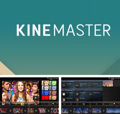 Besides BluetoothTalkie Android program you can download Kine Master for Android phone or tablet for free.