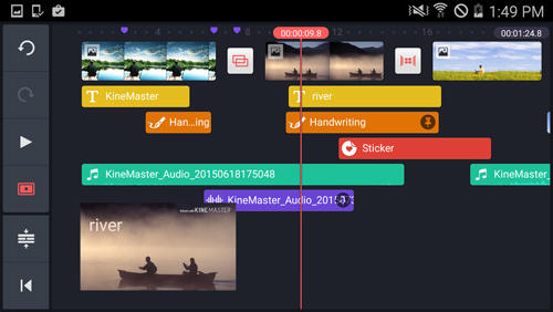 KineMaster: Video Editor app for Android, download programs for phones and tablets for free.