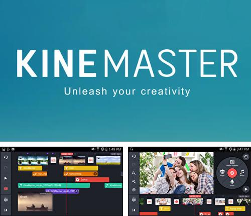 Besides Cam card: Business card reader Android program you can download KineMaster: Video Editor for Android phone or tablet for free.