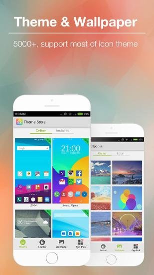 KK Launcher app for Android, download programs for phones and tablets for free.
