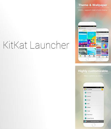 Besides Planner 5D Android program you can download KK Launcher for Android phone or tablet for free.