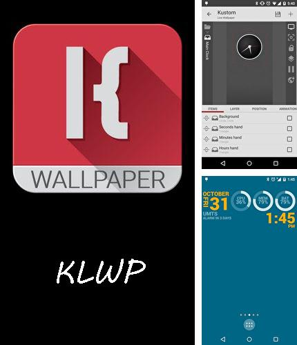 Besides Viva video Android program you can download KLWP Live wallpaper maker for Android phone or tablet for free.