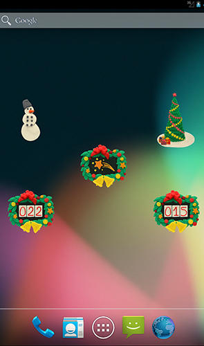 KM Christmas countdown widgets app for Android, download programs for phones and tablets for free.